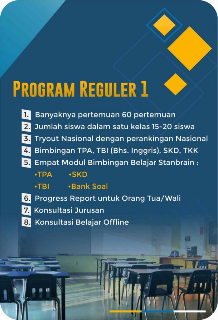 Program Reguler 1